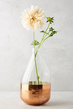 Copper Foil Vase - anthropologie.com