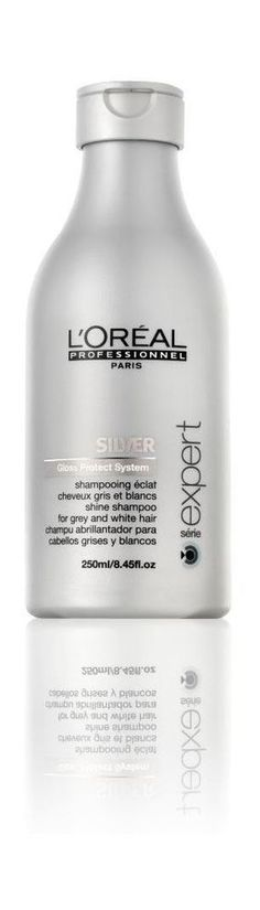 Wet and distribute L'Oréal Professionnel Silver Shampoo evenly throughout. Massage into a lather then rinse thoroughly. L'Oréal Professionnel Silver is so effective due to its anti-yellowing agent which targets and neutralizes brassy tones in grey and all light coloured hair. | eBay!