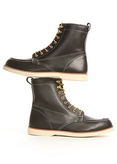 Blackbird - The Brothers Bray & Co. - Fairhaven Boot in Black