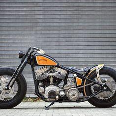 Harley Vintage Custom Bobber (7)