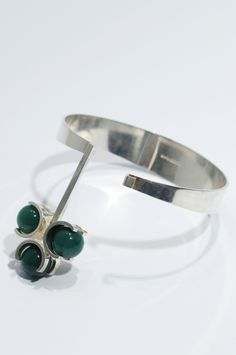 bracelet by Elis Kauppi, Finland, 1960s  #mid-century #modernist #midcenturymodern #retro