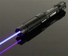 High Powered Laser - So strong it can pop a balloon or light a match.