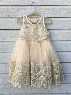 Ivory Lace & Tulle Dress                                                                                                                                                      More