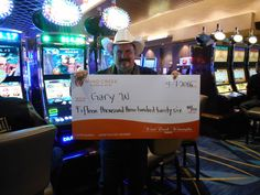 Congrats to Mr. Gary on finding in his #winningmoment on Timber Jack! Don't spend all of that money in one place Mr. Gary!