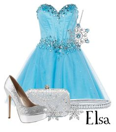 """""""Elsa"""" by murphylovesturtles ❤ liked on Polyvore featuring Anoushka G, BERRICLE, Forever New, ALDO, Reeds Jewelers and Van Cleef & Arpels"""