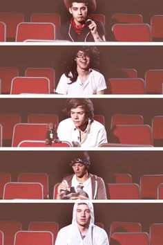Imagine going to the 1D3D movie and looking around where you are seated and seeing this :) -Brianna