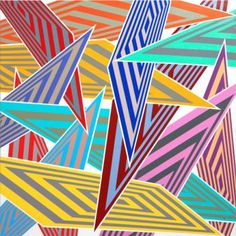 Artwork from exhibition by Sara Hughes, Karen Black, Yayoi Kusama, Data Visualization, Teaching Tools, Op Art, Optical Illusions, Tool Design, Abstract Pattern, Swirls