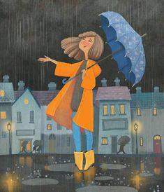 Saia na Chuva para se Molhar