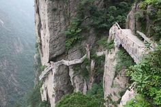 "Challenge in China : On Cliffside path, Huangshan, Anhui, leave a quote (in geocache)  that will put a smile on the face of the next geocacher. Take a pic of the geocache & pin it here in  ""Geocaching Challenges"" - WRITE the exact geolocation (comment on geocache pin). WRITE ""Game is On"" on original pin with reference to the new pin."