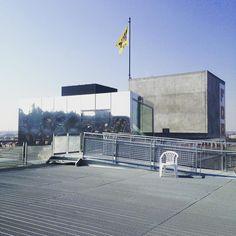 mirror house #wiels #panoramaweekend #rooftop by albaneparet