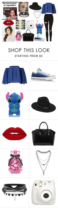 """""""Stop looking for happiness, in the same place you lost it."""" by jblover-1fan on Polyvore featuring Converse, Lack of Color, Givenchy, Victoria's Secret and Fujifilm"""