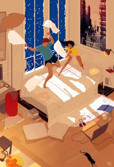 pascal campion: Snow days are the best!