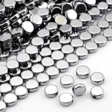 Hematyt moneta srebrna 10mm Stone, Rock, Stones, Batu