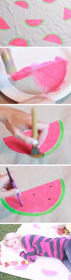 Tumblr Inspired Picnic Blanket | 20 DIY Backyard Party Ideas for Teens that you will love!