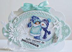 The Snoesje blog: Hallo meneer de sneeuwman
