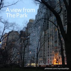 Central Park S beautiful view