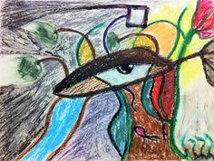 Drawing by Sergiu Marinescu Inside Nature  #abstractart #abstract #