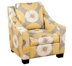 Same chair- but upholstered instead of slipcover look Four Seasons - Casual Custom Furniture