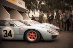 Gt40's at Goodwood Revival 2013