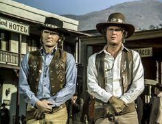 Western TV show: Alias Smith & Jones, Hannibal Heyes & Kid Curry, starring Pete Duel & Ben Murphy. Episode:The McCreedy Bust: Going, Going, Gone
