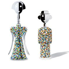 And if you don't want Alessi's Parrot cork screw, there is the anthropomorphic duo:  Alessandro M. e Anna G.: cavatappi di Alessandro Mendini per Alessi  #BarWorthy