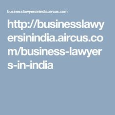 As we know the business sector of all cities are growing very fastly. So the issues triggered from businesses are also increasing. An efficient business lawyer can help you in this situation. So don't waste your time by searching anywhere else.This is a link http://www.pathlegal.in/Advocates/Business/India/ that reaches you in a directory of excellent business lawyers. so check it out.