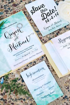 Wedding Invitations for all wedding styles! Modern Wedding Invitations, Traditional Wedding Invitations, Unique Wedding Invitations & Destination Wedding #WeddingInvitations #Wedding #weddingcake