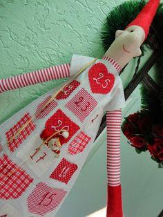 Toca do tricot e crochet: calendário do advento