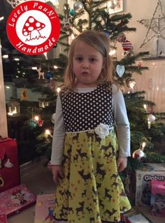 Mottes Weihnachtskleid - Schnitt: Elara von 37engelchen