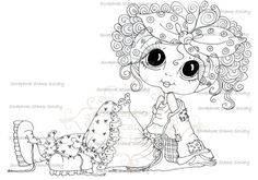 love this digi, would like to try coloring it.  digi by Sherri Baldy