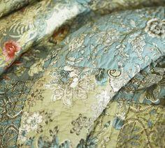 Neena Patchwork Quilt, King/Cal. King | Patchwork, Queen beds and ... : pottery barn neena quilt - Adamdwight.com