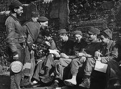 Robert Capa - Spain. Near Fraga, Aragon front. Battle of the Ebro. November 1938.