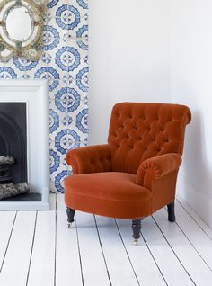What a great idea for a chimney breast