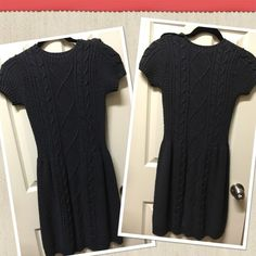 Rubbish Cable Sweater Dress (Juniors) It's a sweater but It's a dress!! Beautiful!! Never used!!!! Size small Juniors remember. Rubbish Dresses Mini
