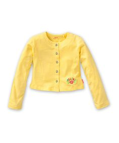 Take a look at this Yellow Tatum Cardigan - Toddler & Girls by Oilily on #zulily today!