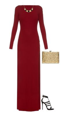 """#420"" by diva-996 on Polyvore featuring Elie Saab, Giuseppe Zanotti and Monet"
