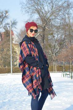Plaid Scarf, Choices, Winter Hats, Fashion, Moda, Fashion Styles, Fashion Illustrations