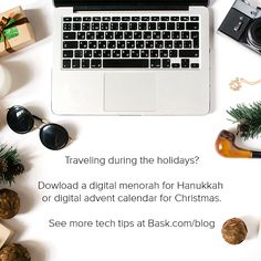 Tech Tip: Digitize your holiday traditions with apps. https://www.bask.com/hanukkah-tech/?utm_campaign=coschedule&utm_source=pinterest&utm_medium=Bask