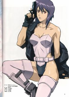 Motoko Kusanagi - Cyborg - Ghost in the Shell