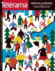 Blexbolex - Télérama gift issue cover