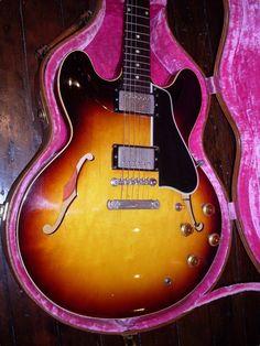 1958 Gibson ES-335 Sunburst #VintageandRare #VandR #Gibson #GibsonES335