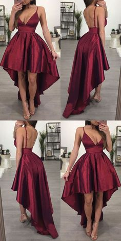 Sexy Hi Low Prom Dresses, V Cut Prom Dresses, Backless . Read more The post Sexy Hi Low Prom Dresses, V Cut Prom Dresses, Backless Prom Dresses appeared first on How To Be Trendy. Burgundy Homecoming Dresses, High Low Prom Dresses, Cute Prom Dresses, Backless Prom Dresses, Grad Dresses, Pretty Dresses, Sexy Dresses, Beautiful Dresses, Evening Dresses