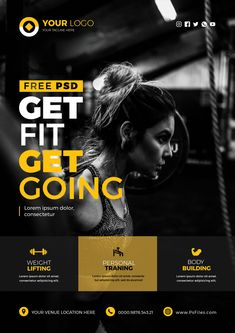 If you have any promotion for your business, offers or something else, this PSD flyer will work perfect for you. Graphic Design Flyer, Web Design, Event Poster Design, Sports Graphic Design, Creative Poster Design, Graphic Design Trends, Brochure Design, Event Posters, Design Layouts