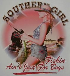 Southern girls like to fish