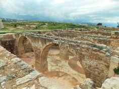 Fortezza Fortress (1580).  Rethymnon, Crete, Greece. 2016