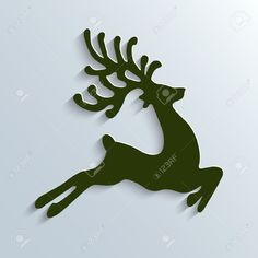 Reindeer Silhouette Stock Photos Images. 9,840 Royalty Free ...