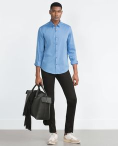 Image 1 of STRETCH SHIRT from Zara