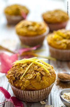 dýňové muffiny ze špaldové mouky