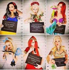 Princess in jail
