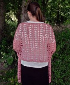 Billow Lace Wrap Pattern - Knitting Patterns by Faith Schmidt